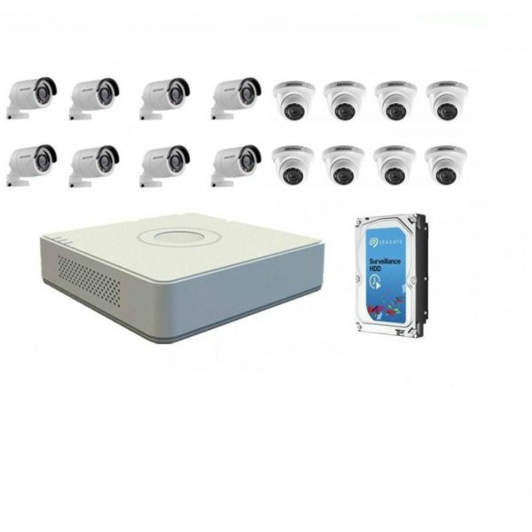 HikVision 16 Ch Turbo HD Kit