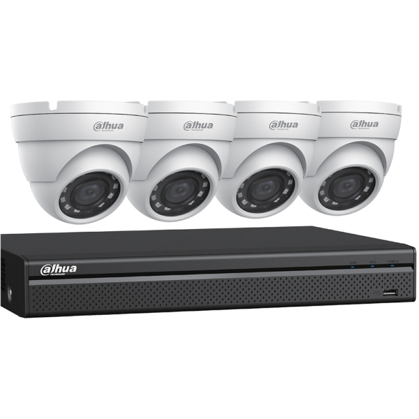 1080p HDCVI Security System